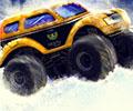 Saltar na Neve com um Super Monster Truck