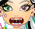 Cuide dos Dentes das Monster High