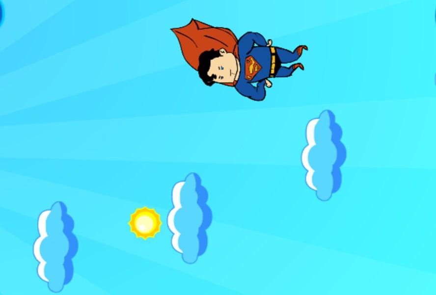 Super Homem de Nuvem em Nuvem