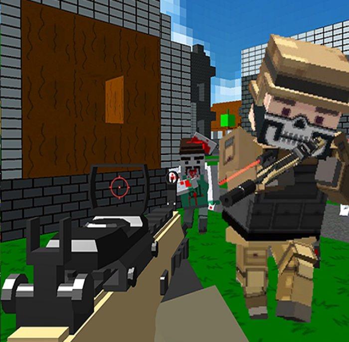 Jogo Combat Cubic Arena Multiplayer