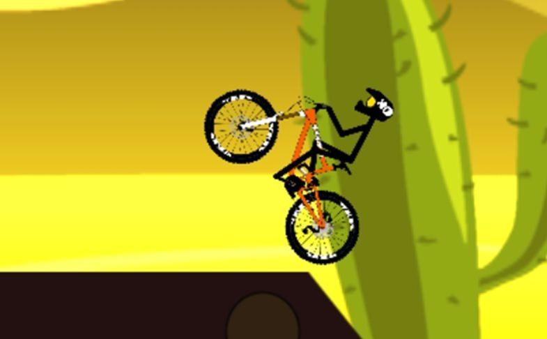 Stickman Bike Rider - jogo de manobras de bike