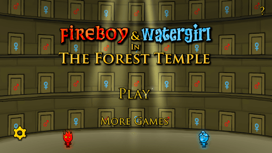 Configurações de Fireboy and Watergirl 1: Forest Temple