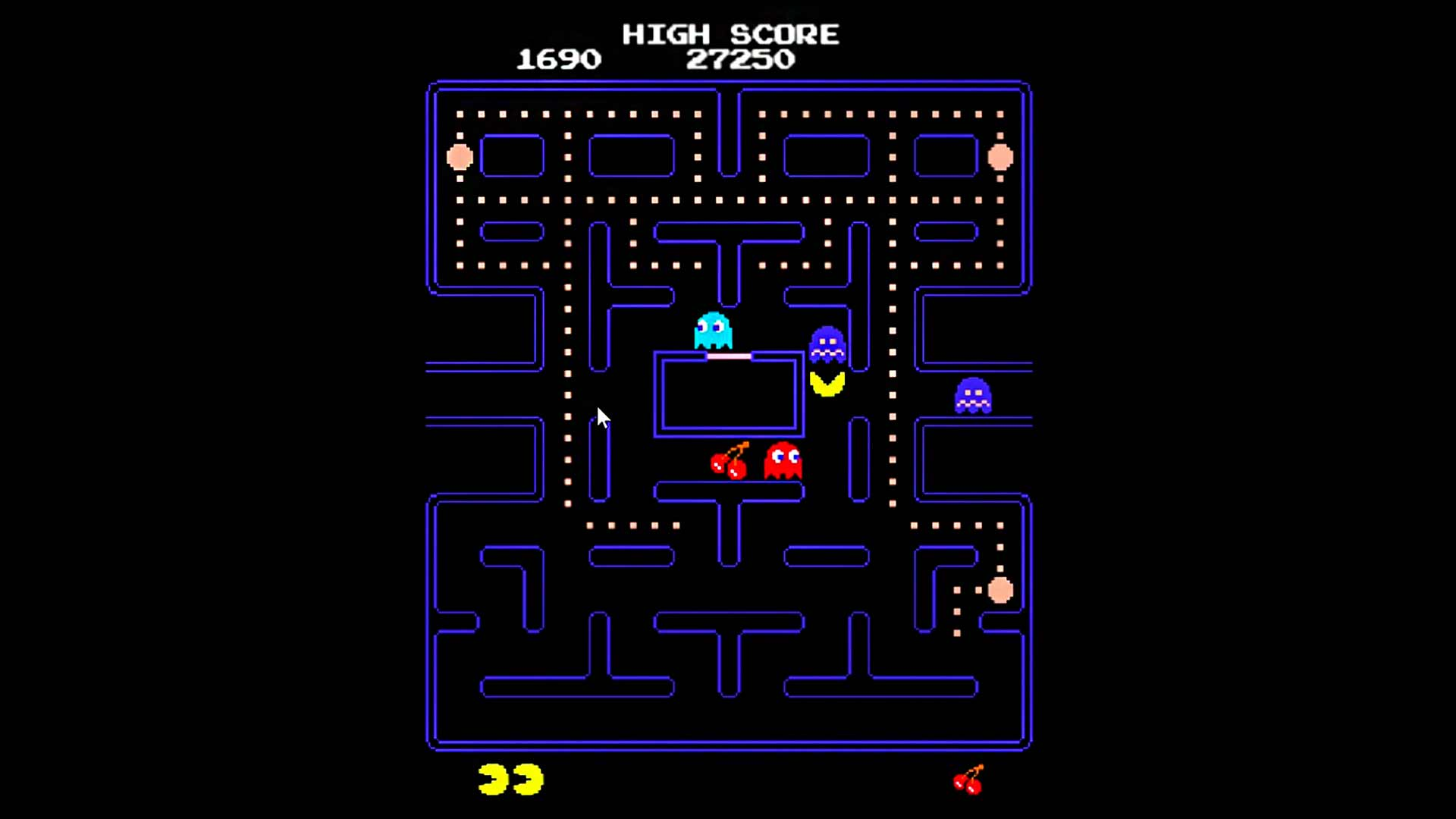 Jogo do Pac-Man clássico