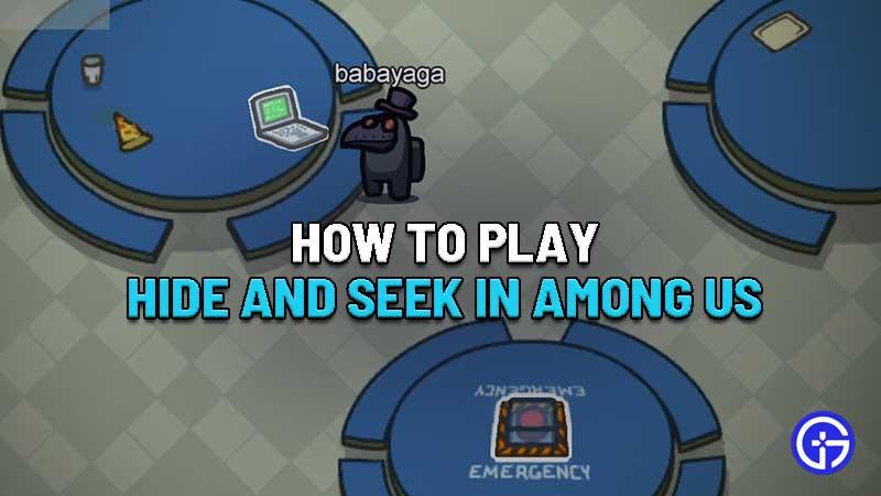 Gameplay Among Us: Hide Or Seek