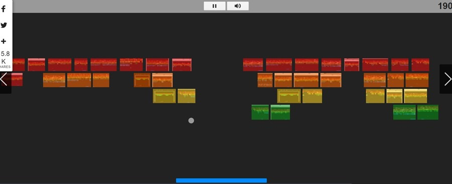 Clássico Atari Breakout Google Doodle