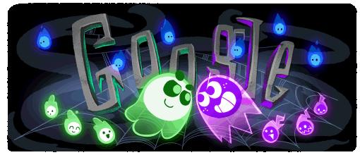 Google Doodle Halloween 2018
