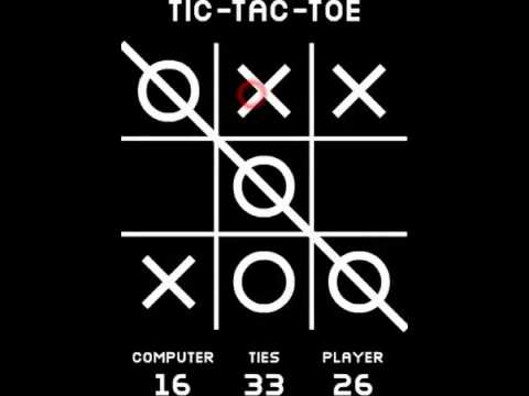 Tela do Tic Tac Toe