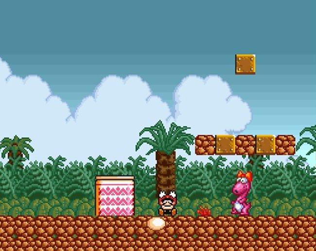 Jogo Super Mario Bros Crossover 3