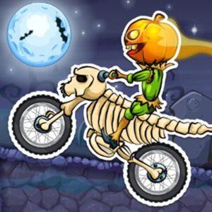 Jogue Moto X3M 6: Spooky Land grátis