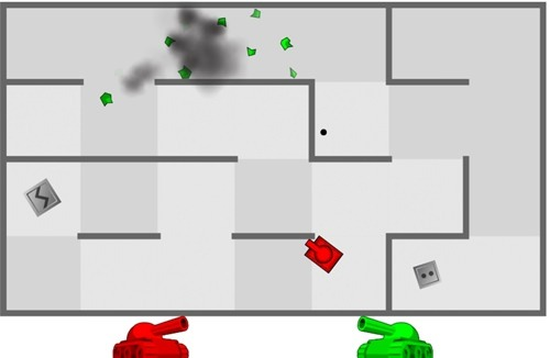 Jogar Tank Trouble online grátis