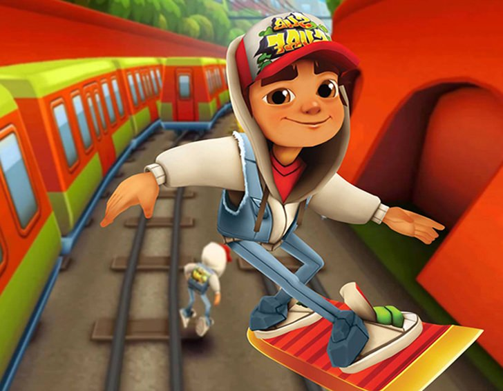 Jogo Subway Surfers super radical